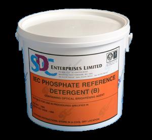 SDCE IEC Detergente de referencia com fosfatos B